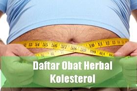 Obat herbal kolesterol tinggi