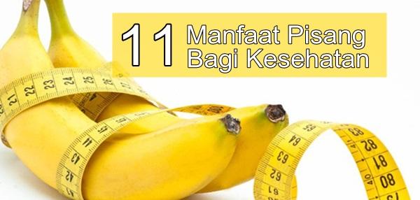 Manfaat pisang untuk pengobatan dan kesehatan