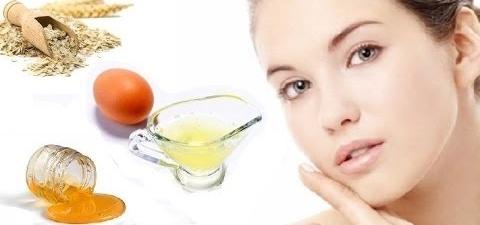 Masker putih telur adalah ramuan pemutih wajah