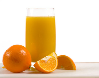 Sari jeruk untuk perokok.