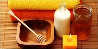 Madu dan susu baik bagi kulit wajah