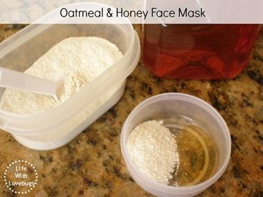 Masker oatmeal dicampur madu