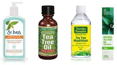 Minyak pohon teh untuk mengobati gangguan kulit di wajah