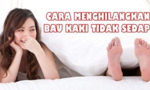 Cara menghilangkan bau kaki tidak sedap