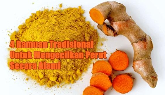 Mengecilkan perut buncit dengan Obat Tradisional