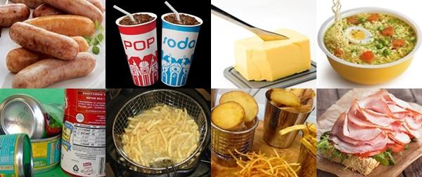 Makanan tidak sehat yang harus dihindari