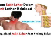 Cara menyembuhkan sakit pada leher dan bahu