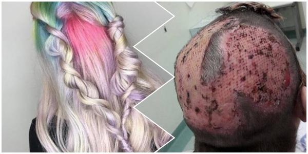 Bahaya cat rambut bagi kesehatan