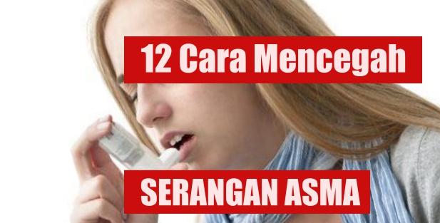 Cara mencegah asma kambuh
